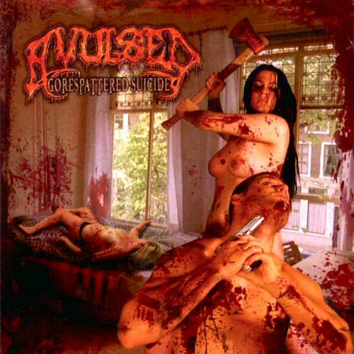 Gorespattered suicide