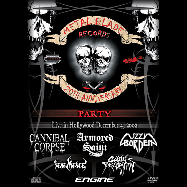 Metal blade records 20th anniversary