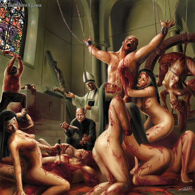 Carnal blood orgy of the lesbian nuns
