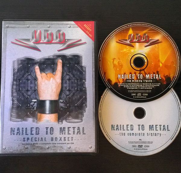 Nailed to metal live
