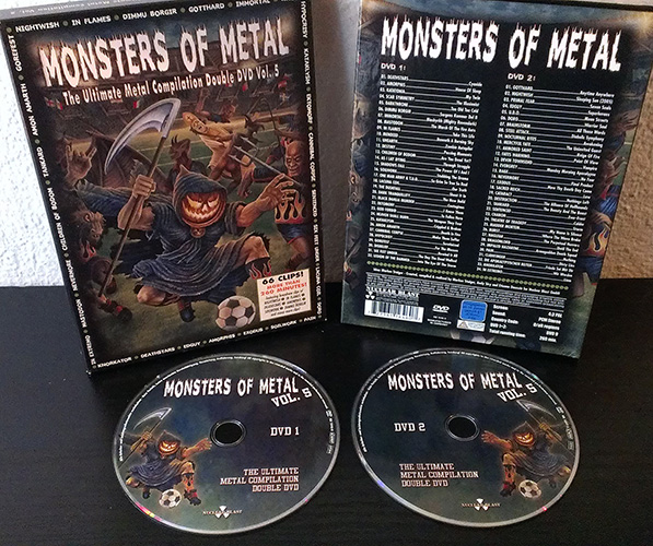 Monsters of metal v