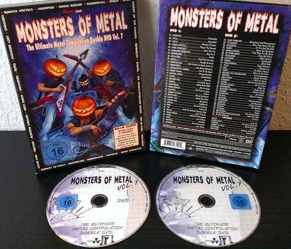 Monsters of metal vii